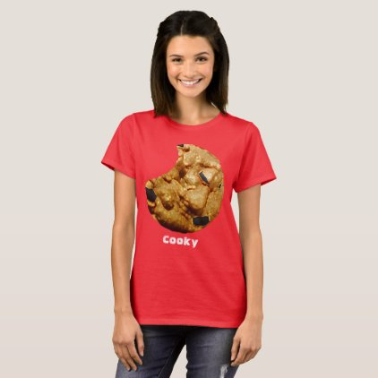 Cooky Red Short Sleeve T-Shirt