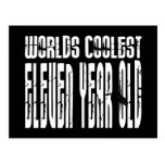 Cool 11th Birthdays Worlds Coolest Eleven Year Old Postcard