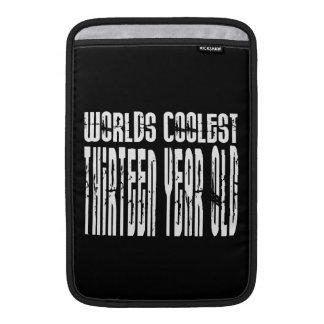 Cool 13th Birthdays Worlds Coolest Thirteen Year MacBook Sleeve