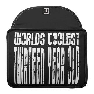 Cool 13th Birthdays Worlds Coolest Thirteen Year Sleeve For MacBook Pro