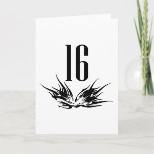 Cool 16th Birthday Gift Card