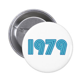 Cool 1979 design pinback buttons