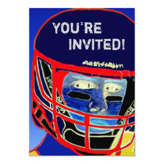 Cool 2012 Football Party Invitation Customizable