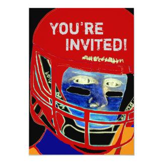 Cool 2013 Football Party Invitation Customizable