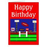 Cool 2013 Kids Football Happy Birthday Card Gift