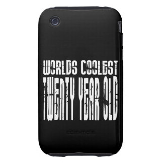 Cool 20th Birthdays Worlds Coolest Twenty Year iPhone 3 Tough Covers