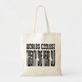 Cool 21 : Worlds Coolest Twenty One Year Old Canvas Bag