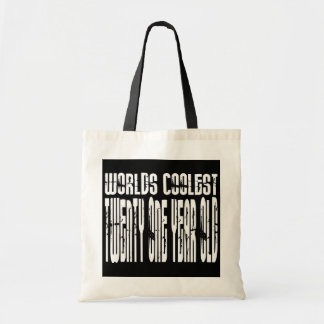 Cool 21 : Worlds Coolest Twenty One Year Old Tote Bags