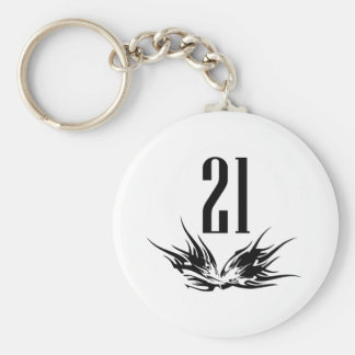 Cool 21st Birthday Gift Keychain
