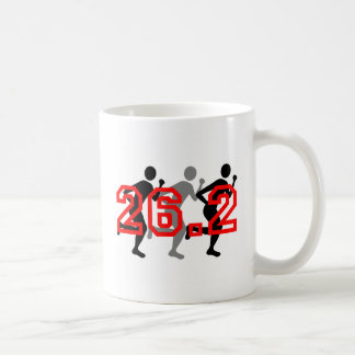 Cool 26.2 marathon coffee mug