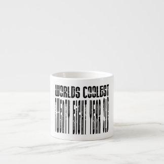 Cool 28th : Worlds Coolest Twenty Eight Year Old 6 Oz Ceramic Espresso Cup