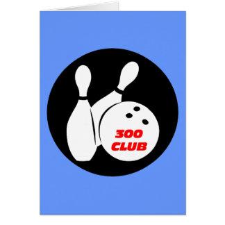 Cool 300 bowling card