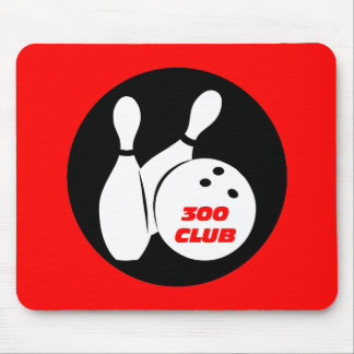 Cool 300 bowling mouse pad