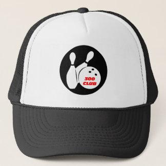 Cool 300 bowling trucker hat
