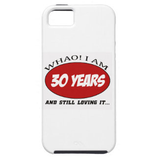 cool 30 years old birthday designs iPhone SE/5/5s case