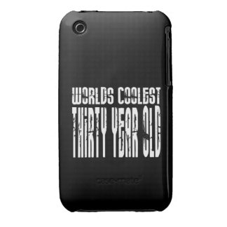 Cool 30th Birthdays Worlds Coolest Thirty Year iPhone 3 Cover