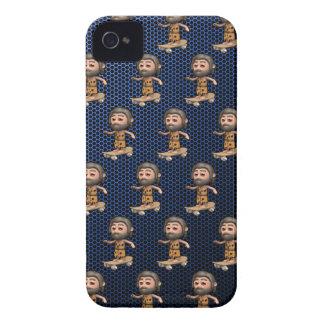 Cool 3d Caveman Skateboarding Case-Mate iPhone 4 Cases