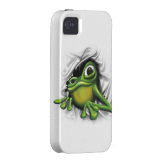 Cool 3d frog iPhone 4 cases
