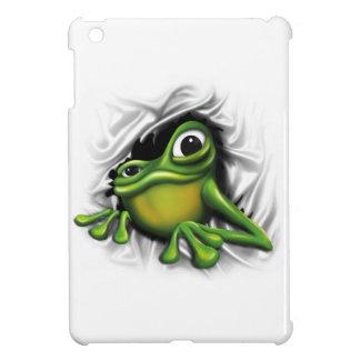 Cool 3d frog iPad mini cover