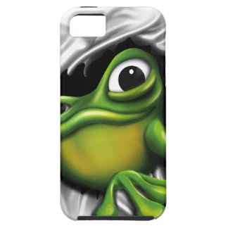 Cool 3d frog iPhone 5 case