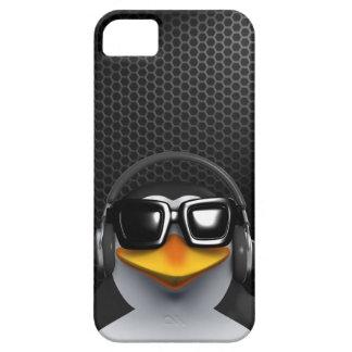 Cool 3d Penguin Headphones iPhone 5 Cases