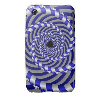 Cool 3d spiral iPhone 3G/3GS Case-Mate Case-Mate iPhone 3 Cases