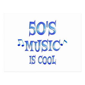 Cool 50s postcard