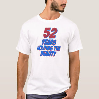 cool 52 years old birthday designs T-Shirt
