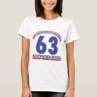 Cool 63 year birthday designs T-Shirt