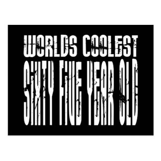 Cool 65th Birthdays Worlds Coolest Sixty Five Postcard