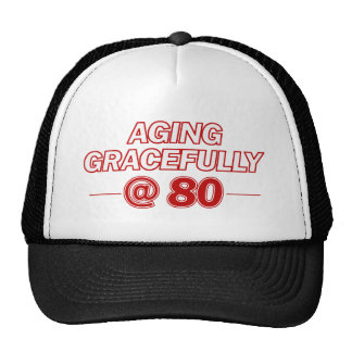 cool 80 years old gifts hats