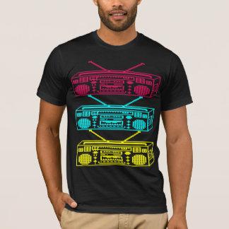 Cool 8 Bit Boomboxes Urban Hip Hop Geek T Shirt