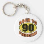 Cool 90th Birthday Gifts Key Chain