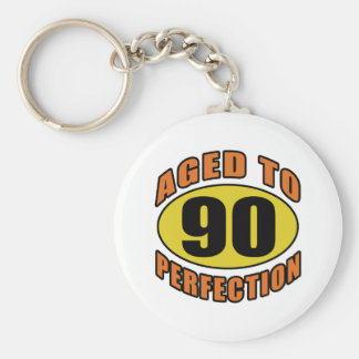 Cool 90th Birthday Gifts Keychain
