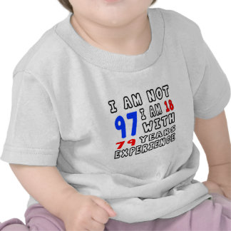 Cool 97 Birthday Designs Tshirt