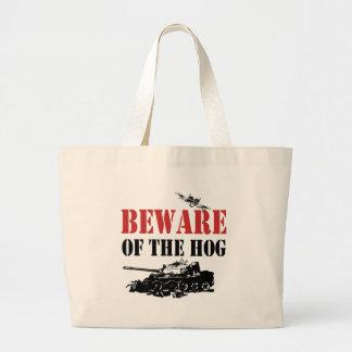 Cool A-10 Warthog Large Tote Bag