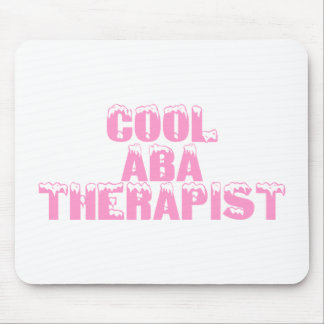 Cool ABA Therapist (Pink) Mouse Pad