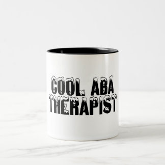 Cool ABA Therapist Two-Tone Coffee Mug