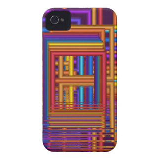 Cool abstract 3-d iPhone 4 case