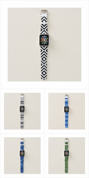 Cool Abstract and Geometric Apple Watch Bands