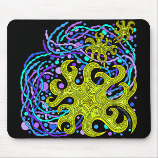 Cool Abstract Art Astrum Vita Mousepad