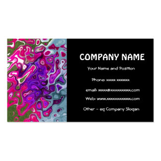 Cool Abstract Business Card