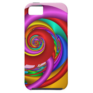 Cool abstract case-mate with 3-d Spirals