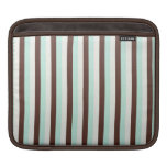 Cool  abstract chocolate  mint sleeve sleeves for iPads