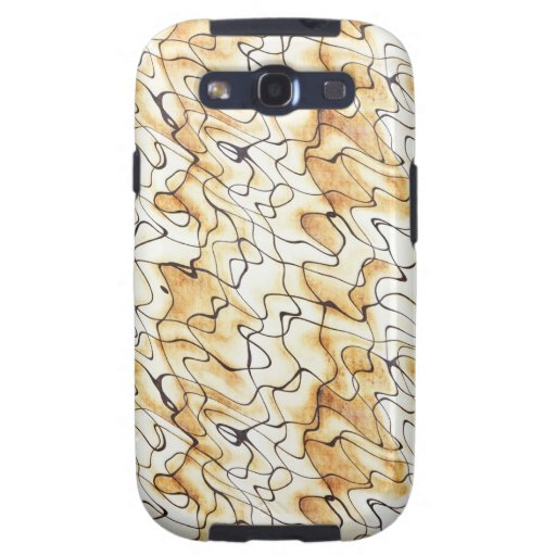 Cool  abstract chocolate sand Samsung case Galaxy SIII Covers