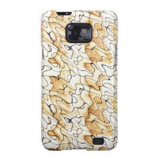 Cool  abstract chocolate sand Samsung case Galaxy S2 Cover