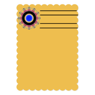 Cool abstract circle pattern card