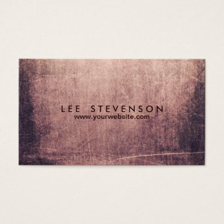 Cool Abstract Edgy Artist Business Card
