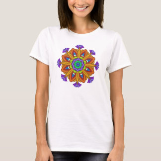 Cool abstract fantasy flower t-shirt
