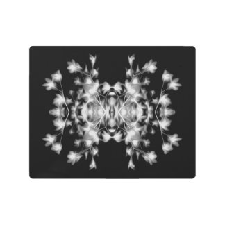 COOL Abstract Floral Metal Print